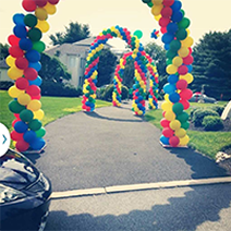 Rainbow Balloons, Rick's Balloon Creations