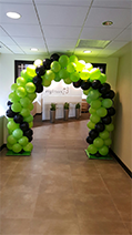 Green and Black, Rick's Balloon Creations