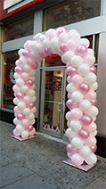 Pink and White, Rick's Balloon Creations