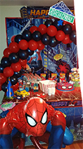 Spiderman, Rick's Balloon Creations